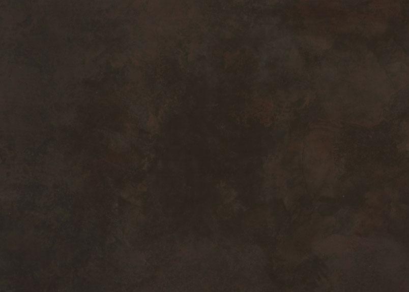 Detailansicht einer leicht bräunlichen Keramik Rohplatte Dekton Keranium