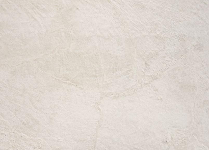 Detailansicht einer hellbeigen Keramik Rohplatte Dekton Liquid Shell
