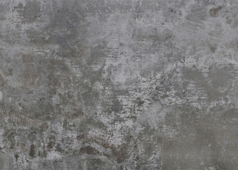 Detailansicht einer gräulichen Rohplatte Dekton Orix