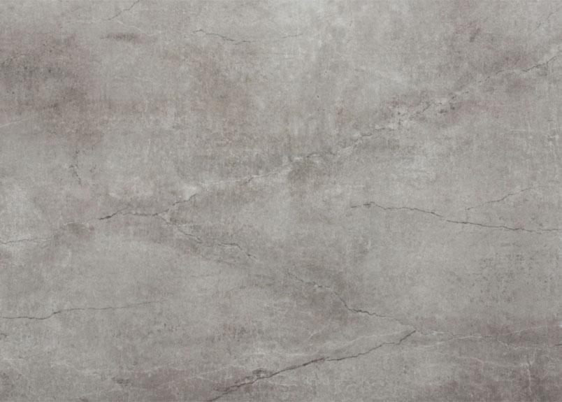 Detailansicht einer leicht gräulichen Keramik Rohplatte Dekton Soke