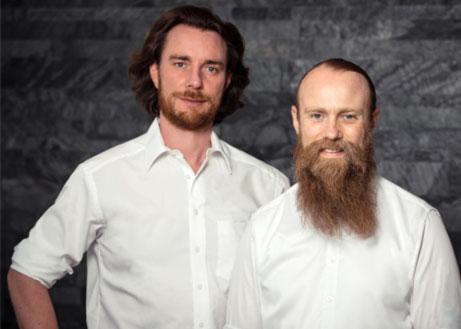 Geschäftsführung Dinger Stone GmbH Brüder Raphael und Simeon Dinger