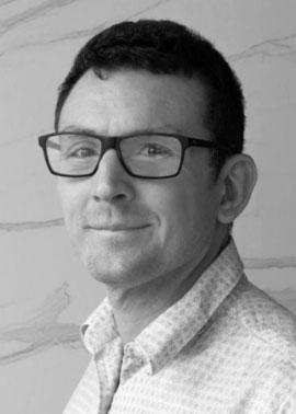 Hubert Gully arbeitet bei Dinger Stone und ist in der CAD tätig