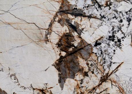 Detailansicht einer Naturstein Rohplatte Patagonia