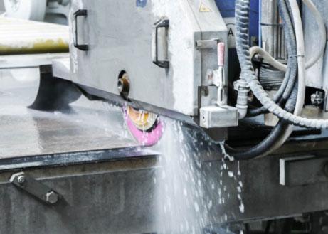 Foto einer Maschine aus der Fertigung oder Produktion