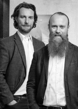 Die Geschäftsleitung von Dinger Stone GmbH Simeon und Raphael Dinger