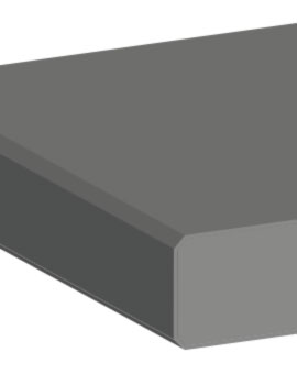 technische Zeichnung einer gefasten Kante