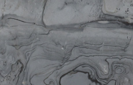 Detailaufnahme der Rphplatte des Natursteins Samba Rock