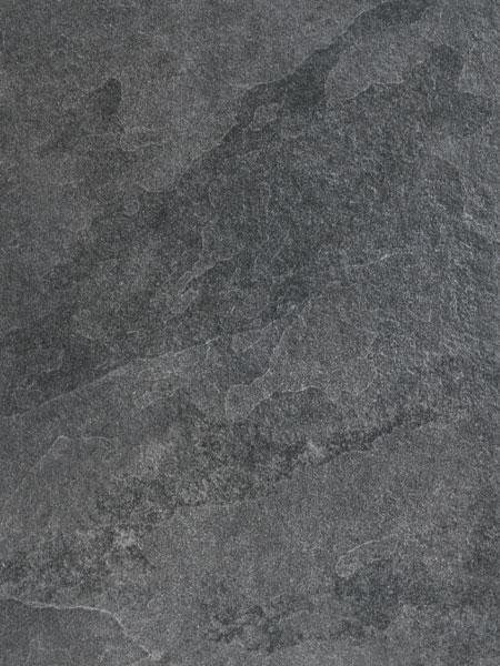 Keramik Poolrandplatte in schwarzer Schieferoptik