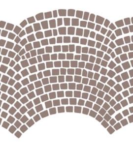 Grafik einer Pflasterstein Segmentverlegung