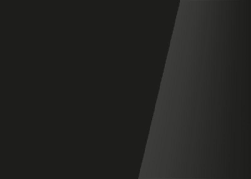 Detailaufnahme einer Glasrückwand aus Weißglas schwarz