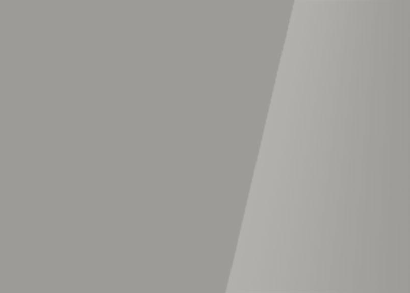 Detailaufnahme einer Glasrückwand aus Weißglas signalgrau