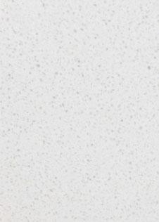 Arbeitsplatte Agglo Cristall mit weiß gesprenkelter Oberfläche