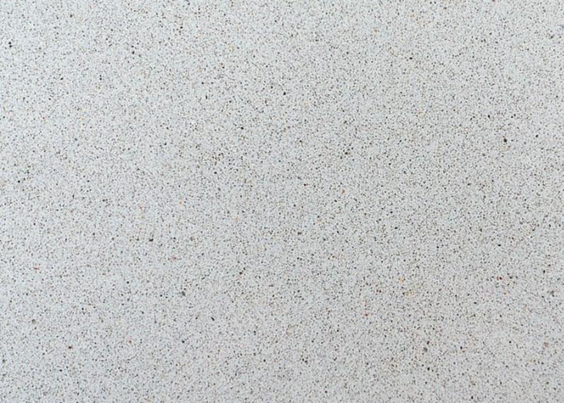 Agglo Grigio Platte Kunststein mit gesprenkelter grau-weißer Oberfläche