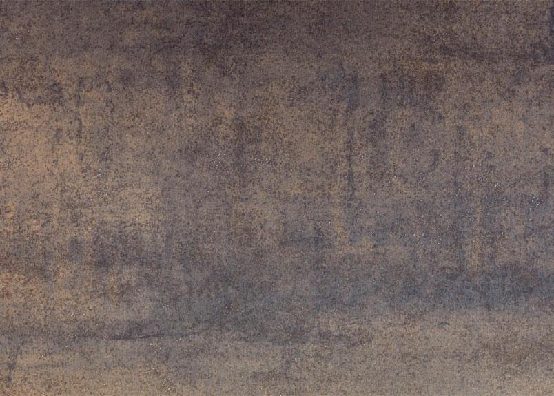 graubraune Keramikplatte neolith Iron Moss in Rostoptik