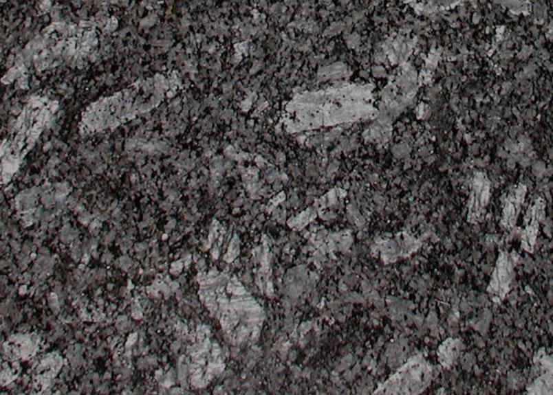 Detail einer Natursteinplatte Azul Noche