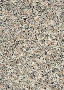 Natursteinplatte Granit Rosa Beta mit körniger Optik in Schwarz, Weiß, Grau und zartem Rosa