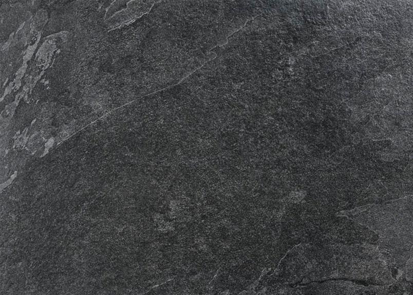 Natursteinplatte aus schwarzem Schiefer