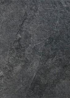 Detailaufnahme Natursteinplatte aus schwarzem Schiefer