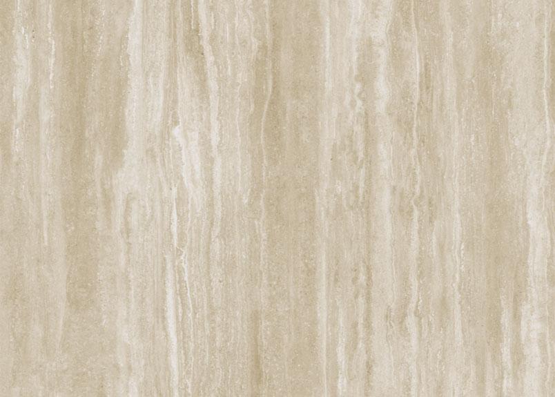Keramikplatte pureto Travertino in beiger Travertin-Optik